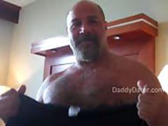 Hung Hairy  Bear Top