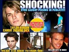 Hollywood - Paul Dawson Self Suck Cumshot