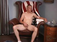 Masculine Stud Strips Down