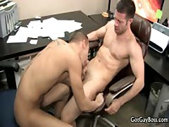 Shane Frost Getting Fucks And Sucks At Office Four By GotGayBoss