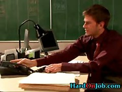 Gay Fucking And Cock Sucking At The Office 6 By HardOnJob