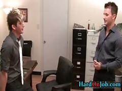 Cameron Getting His Stiff Gay Erection Sucked Off By Jason 1 By HardOnJob
