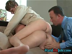 Horny Gay Threesome Rimming And Ass Fucking Porno 3 By HardOnJob