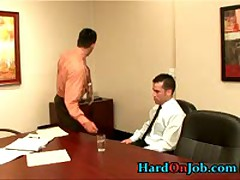 Two Hunks Making Out In The Office 1 By HardOnJob