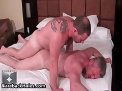 Hard Core Homosexual Barebacking Making Out And Schlong Sucking Free Porno 9 By BarebackHoles