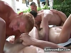 Gay Porn Gangbang In Public Bathroom Videos 6 By BathroomBait