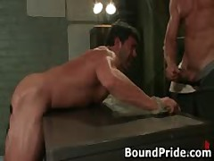 Tyler And Vince Hunky Muscle Gays Extreme Fetish 2 BoundPride