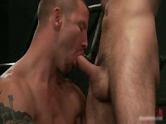 Brenn, Adam And Blake In Horny Extreme Gay Bondage S&M Fetish Threesome 6 By BoundPride