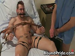Muscled Jason And Penix In Extreme Gay Bondage 5 By BoundPride