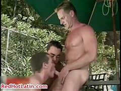 Nick Capra, Ty Hudson And Danny Lopez Homosexual Hard Core Manage A Trios 3 RedHotLatin
