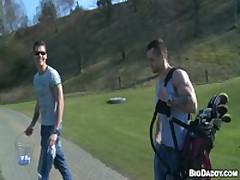 Bareback Sex On The Golf Course