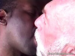 Bear  Fucked By Hung Black Guy
