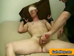 Gay Clip Of Cory Gets His Hard Dick Played With Toy 1 By GushedBoys