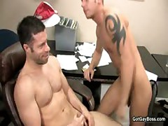 Shane Frost Getting His Steamy Cock Sucked Off 11 By GotGayBoss