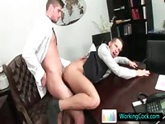 Aroused Work Sexy Hunk Gets His Poopshute Stretched And Covered In Cum By Workingcock