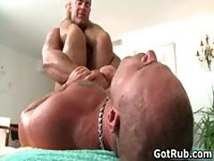 Fine Buddy Getting Horny Queer Rubbing 6 By GotRub