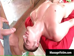 Calvin Gets His Hard Cock Rubbed Hard During Massage 6 By MassageVictim