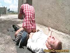 Steamy Heterosexual Hotties Get Outed In Outdoor Places Gratis Homo Movies 16 By OutInCrowd