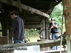 Anthony And Mauricio Latino Homosexual Fucked And Sucked Three By GayLatinoPass