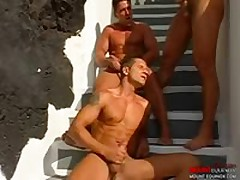 Dudes Fuck As One Watches 0