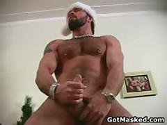 Amazing Good Looking Gay Hunk Masturbating 7 By GotMasked