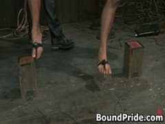 Gay Slaves Get Electro Therapy From Their Masters 4 By BoundPride