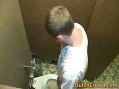 Gay Twink Sucks On The Street And Fucking On The Public Toilets 9 By OutInCrowd