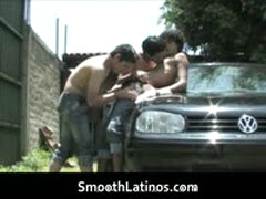 Mexican Twinks Go Gay Bareback 2 By SmoothLatinos
