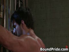 Tyler And Vince Hunky Studs Extreme BDSM Gay Porn 5 BoundPride