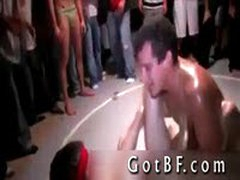 College Fraternity Guys Having Some Gay Wrestling Fun 3 By GotBF