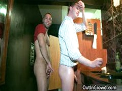 Lucky Hunk Gets His Massive Dick Sucked 13 By OutInCrowd