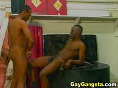 Sexy Black Gays In A Hot And Steamy Hard Cock Sucking