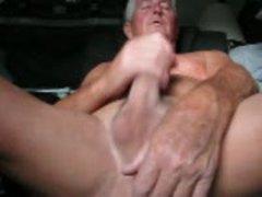 Old Men Jerking Cumshot