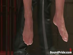 Strung And Hung And Whipped Homo Bondage 1 By BoundPride