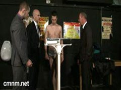 Arrogant Boxer Stripped