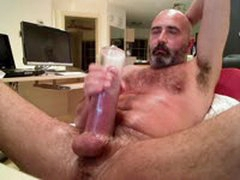 Long,Thick & Heavy - Cock Pumping Hairy