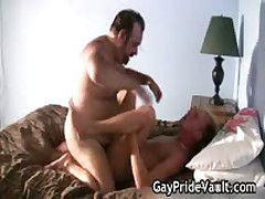 Blonde Dude Is Pounded By Homosexual Teddy 19 By GayPrideVault