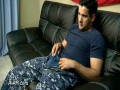 Navy Guy With Hairy Balls