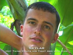Cute Straight Twink Skylar
