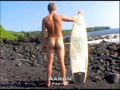 Public Nudist Surfer