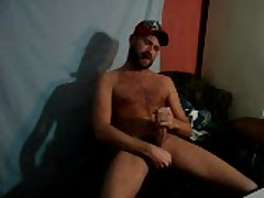 Young Hairy Redneck Smoking And Blowing A Load