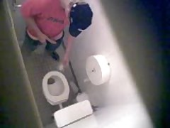Toilet Spy Wank